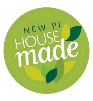 New Pi House-made Label