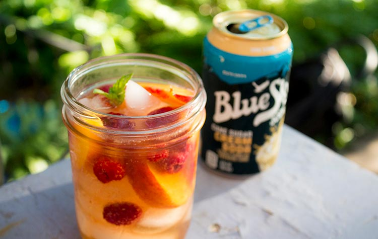 Peach Soda Sangria