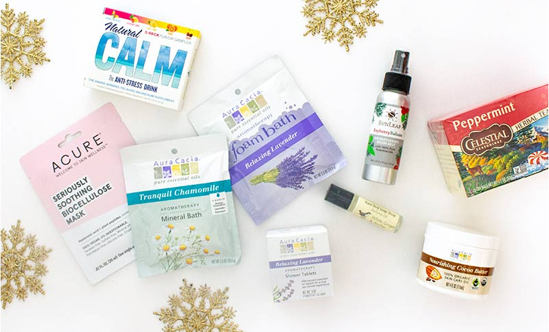 Holiday Gifts that Soothe and Relax