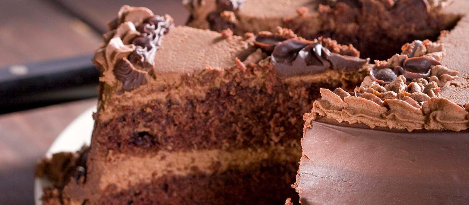 New Pi Chocolate Mousse Cake